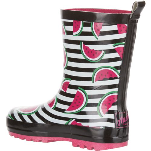 Austin Trading Co. Girls' Rubber Watermelon Boots - view number 3