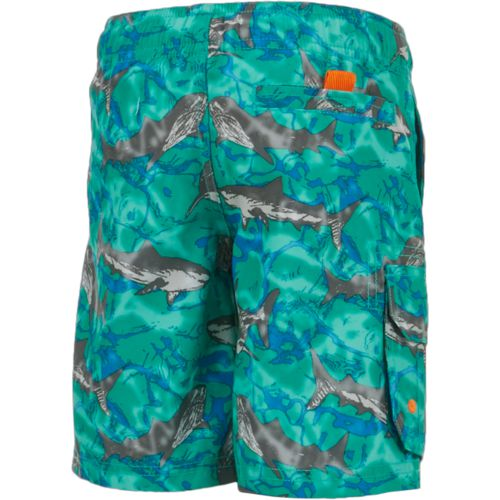 O'Rageous Boys' Sketchy Shark Printed Boardshorts - view number 2