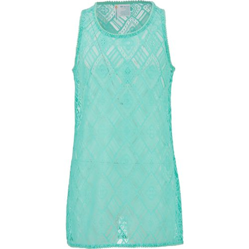 O'Rageous Girls' Crochet Tank Dress Swim Cover-Up