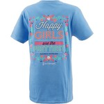 Love & Pineapples Women's Happy Girls Are The Prettiest T-shirt - view number 1
