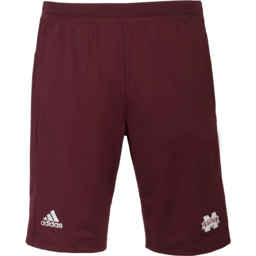 adidas Men's Mississippi State University Logo Knit Short