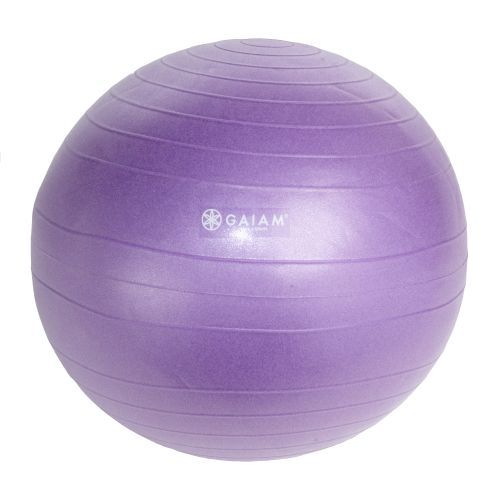 Display product reviews for Gaiam Eco Total Body 55 cm Balance Ball Kit