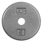 CAP Barbell 5 lb. Standard Plate - view number 1