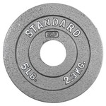 CAP Barbell Slim-Line 5 lb. Olympic Plate - view number 1