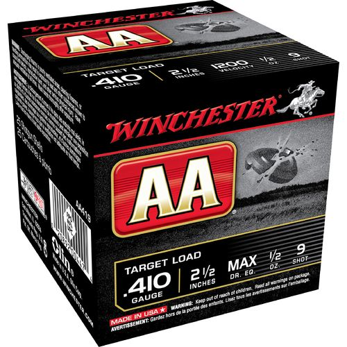 Display product reviews for Winchester AA Target Load .410 Shotshells