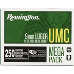 Remington UMC® 9mm Luger 115-Grain 250-round Centerfire Ammunition
