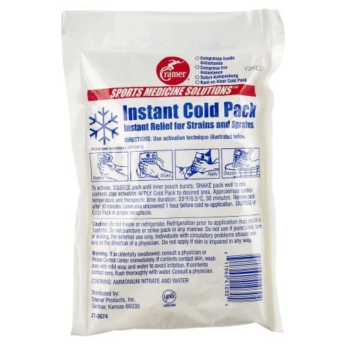 Display product reviews for Cramer Instant Cold Pack