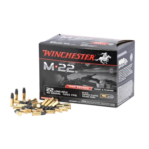Winchester M22 .22 Long Rifle 40-Grain Rimfire Ammunition