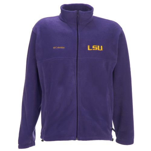 Columbia Sportswear Men's LSU Full-Zip Flanker Jacket - view number 1