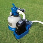 INTEX® Krystal Clear Sand Filter Pump and Saltwater System