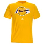 adidas Men's Los Angeles Lakers Full Color Primary Logo T-shirt