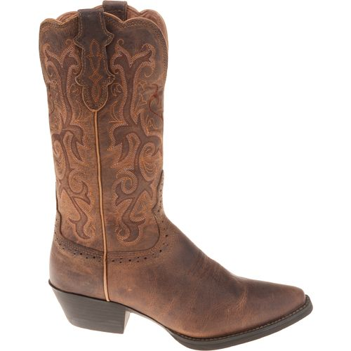 Display product reviews for Justin Women's Puma Cowhide Western Boots
