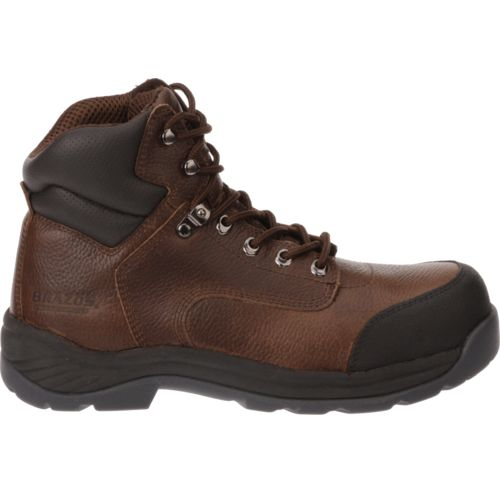 Brazos Men's Work Horse II Steel Toe Work Boots