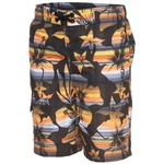 O'Rageous Boys' Elastic Waist Ombre Hibiscus Print Boardshort - view number 1