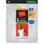 Hanes Men's TAGLESS® Tank Tops 6-Pack