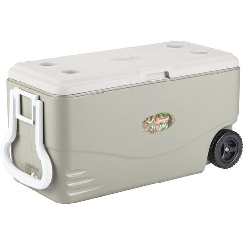 Display product reviews for Coleman® Xtreme® 100 qt. Wheeled Cooler