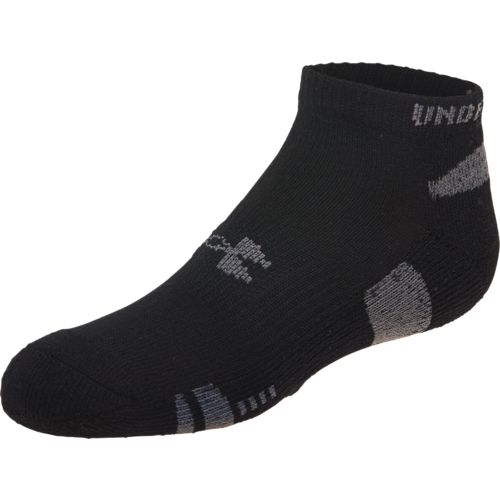 Under Armour™ Boys' HeatGear® No-Show Socks 3-Pair