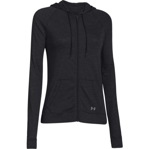 Under Armour  Women s Charged Cotton  Legacy Full Zip Hoodie