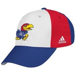 adidas™ Men's University of Kansas Structured Flex Cap