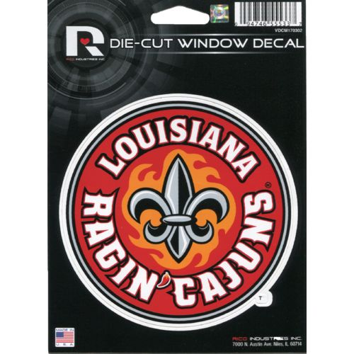 Rico University of Louisiana at Lafayette Die-Cut Decal