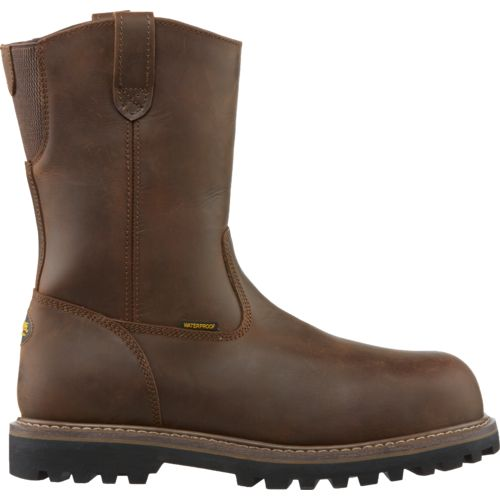 Brazos Men's Work Force Antifatigue Wellington CT Work Boots