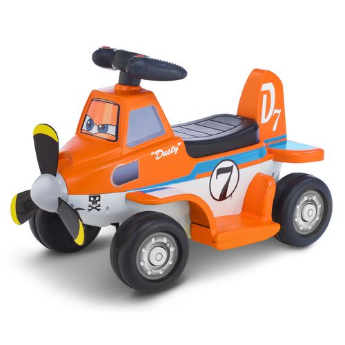 KidTrax Boys' Disney Planes Dusty 6V Quad Ride-On