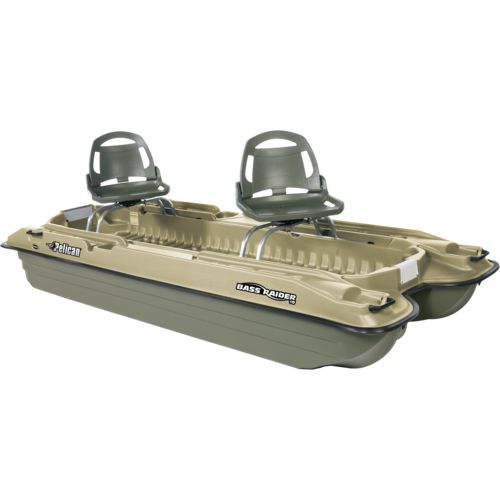 Pelican bass raider 10e 10 39 2 pontoon boat academy for Two man fishing boat