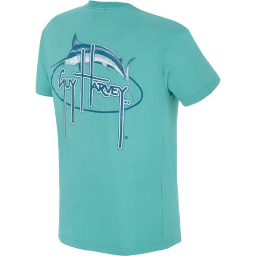 Guy Harvey Men's Marlin Oval T-shirt