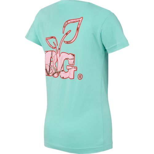 Realtree Girl Juniors' Fitted Logo T-shirt - view number 2