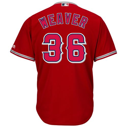 Majestic Men's Los Angeles Angels Jered Weaver #36 Cool Base® Replica Jersey