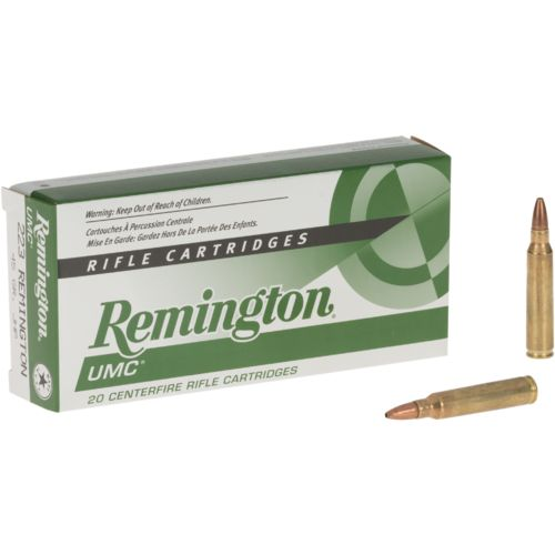 Remington UMC .223 Remington 45-Grain Rifle Cartridges