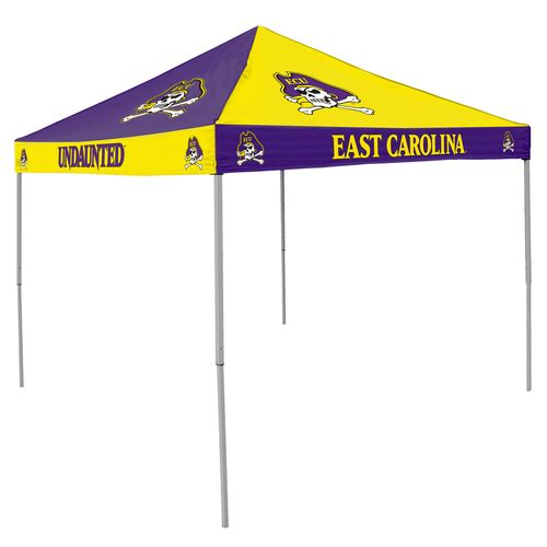 Logo East Carolina University Straight-Leg 9 ft x 9 ft Checkerboard Tent - view number 1