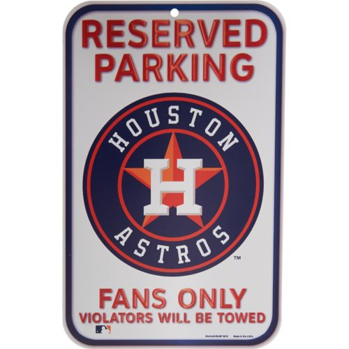 WinCraft Houston Astros Plastic Sign - view number 1