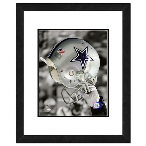 "Photo File Dallas Cowboys 8"" x 10"" Helmet"