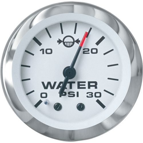 SeaStar Solutions Sierra Signature Lido Instruments Outboard Water Pressure Gauge