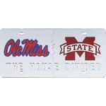 Stockdale Mississippi House Divided Acrylic License Plate