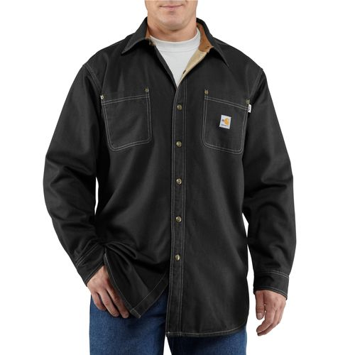 Carhartt Men's Flame Resistant Canvas Shirt Jac - view number 2