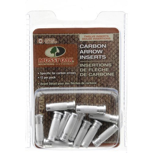 Mossy Oak Carbon Arrow Inserts 12-Pack