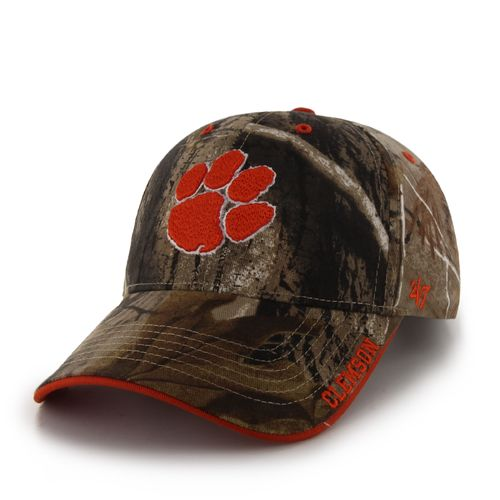 '47 Men's Clemson University Realtree Frost MVP Cap - view number 1