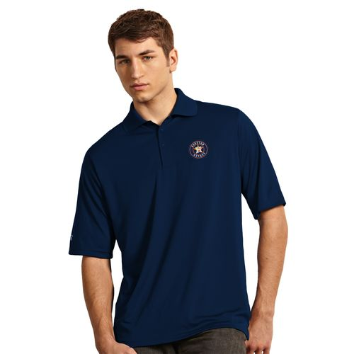 Antigua Men's Houston Astros Exceed Polo Shirt