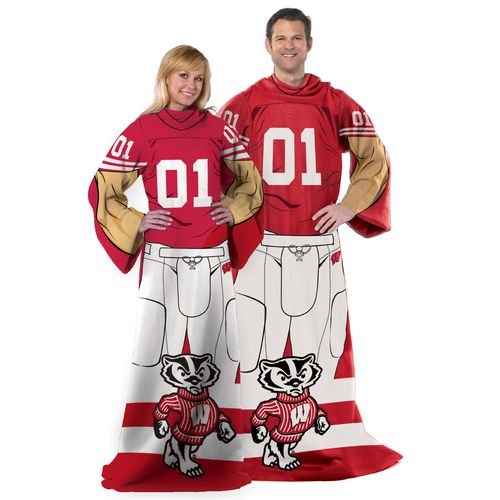 The Northwest Company University of Wisconsin Uniform Comfy Throw - view number 1