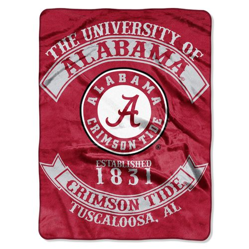 The Northwest Company University of Alabama Rebel Raschel Throw - view number 1