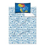 The Northwest Company University of Kansas Anthem Twin Sheet Set