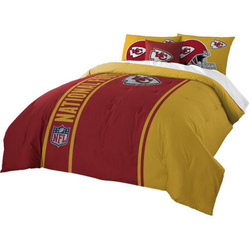The Northwest Company Kansas City Chiefs Full-Size Comforter and Sham Set