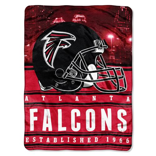 The Northwest Company Atlanta Falcons Stacked Silk Touch Throw
