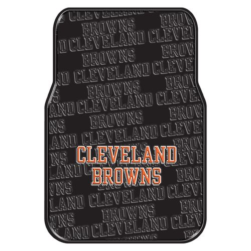 The Northwest Company Cleveland Browns Front Car Floor Mats 2-Pack
