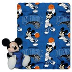 The Northwest Company Orlando Magic Mickey Mouse Hugger and Fleece Throw Set