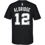 adidas™ Men's San Antonio Spurs LaMarcus Aldridge #12 7 Series T-shirt