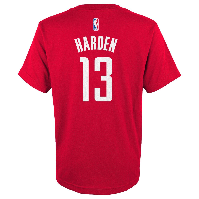 adidas™ Boys' Houston Rockets James Harden #13 Flat
