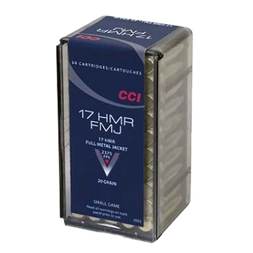 Display product reviews for CCI .17 Hornady Magnum Rimfire 20-Grain Ammunition